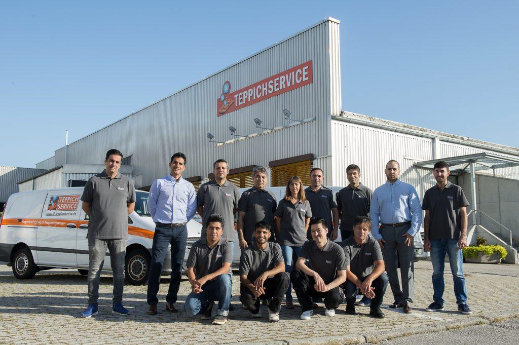 Teppichreinigung Allach - Team